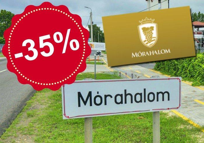 A mai naptól kezdve rendkívüli, 35%-os kedvezményt kínálunk minden Mórahalom Városkártya tulajdonosnak, ezzel segítve a mórahalmi vállalkozásokat és kezdeményezéseket!