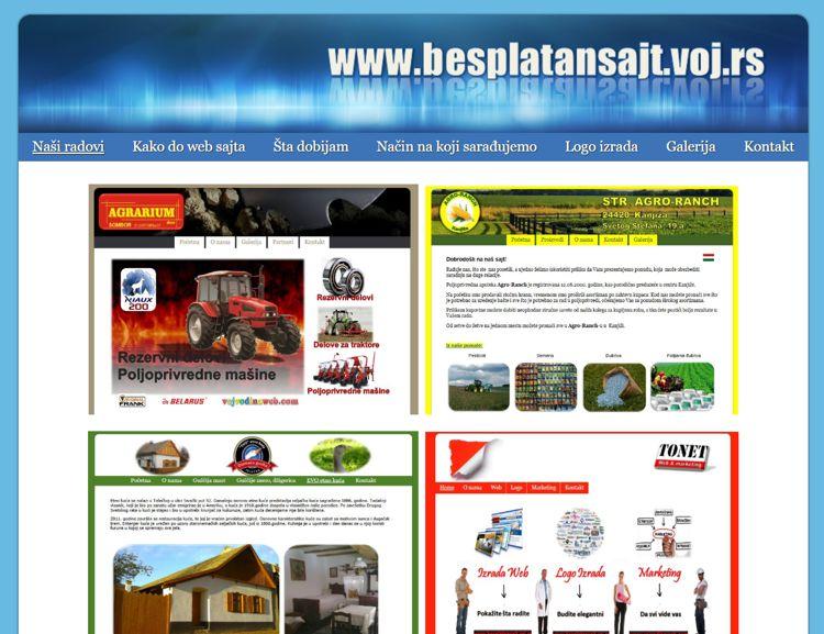 Egy komplett honlap készítő webrendszer, ahol az oldal tulajdonosa képes volt saját céges megrendelői számára pár kattintással egyedi weboldalakat készíteni. Különböző sablonokkal, színekkel, képekkel, elrendezéssel és menürendszerrel tehette egyedivé az elkészült weboldalakat.